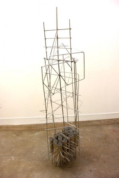 """Bliss"" 2014. Concrete and Aluminum"